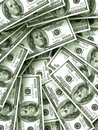 Money background. Close-up. Stock Photography