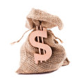 Money bag Stock Photos