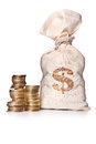 Money Bag Royalty Free Stock Images