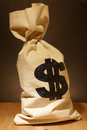 Money Bag Royalty Free Stock Photos