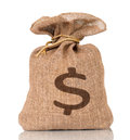 Money bag Royalty Free Stock Photo