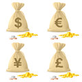 Money Bags Stock Image