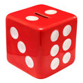 Money Box Dice Royalty Free Stock Photo