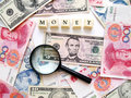 Money cash concept background Stock Photography