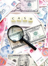 Money cash concept background Stock Images