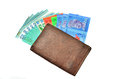 Money cash wallet Royalty Free Stock Photo