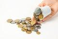 Money coin piece cash currency ukraine