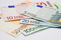 Money in currency euro Stock Photography