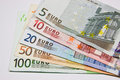 Money in currency euro Stock Image
