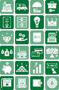 Money & Finance icons Royalty Free Stock Photography
