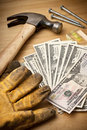 Money Finance Renovation Tools Stock Images