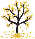 Money growing on branches Royalty Free Stock Photo