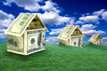 Money Houses Royalty Free Stock Photo