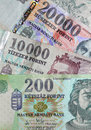 Money - Hungarian Forint Stock Photos