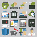 Money icon set designs Royalty Free Stock Images