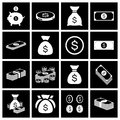 Money icon set vector illustration eps Stock Image