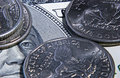 Money: keep an eye on Royalty Free Stock Photo