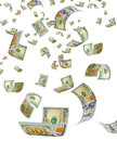 Money out of thin air. Royalty Free Stock Photo