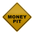 Money Pit Royalty Free Stock Photo