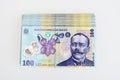 Money Romanian Leu 100