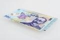 Money Romanian 100 Leu Stack