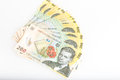 Money Romanian 200 Leu Stack