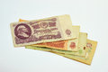 Money russian old rur year Stock Photo
