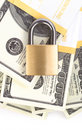 Money security Royalty Free Stock Photography
