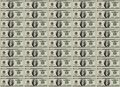 Money sheet Royalty Free Stock Image