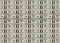 Money sheet Royalty Free Stock Image