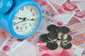 Money and time Royalty Free Stock Image