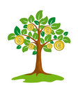 Money tree. Royalty Free Stock Image