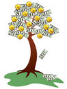 Money tree Royalty Free Stock Image