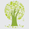 Money Tree Icons Royalty Free Stock Photography