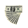 Money - USD -  One Thousand Dollars Royalty Free Stock Photo