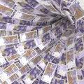 Money vortex of 20 Swedish kronor bills Royalty Free Stock Photo