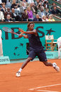 Monfils Gael - French star 2008 (27) Stock Images