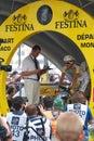 Monfort Maxime - Tour de France 2009 Royalty Free Stock Photo
