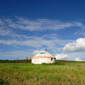 Mongolia package Yurt Stock Images