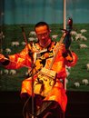 Dances playing-Mongolian song and dance performances Royalty Free Stock Photo