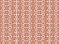 Monica an original textile pattern with repeated arrangement of shapes and colours Stock Image