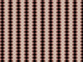 Monica an original textile pattern with repeated arrangement of shapes and colours Royalty Free Stock Photo