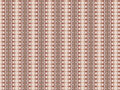 Monica an original textile pattern with repeated arrangement of shapes and colours Royalty Free Stock Photography