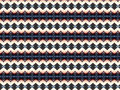 Monica textile pattern with different geometries Stock Photo