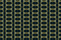 Monica textile pattern in a golden mixture of colours with interesting geometries Stock Images