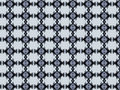 Monica textile pattern in a white silver and black mixture of colours with interesting geometries Stock Photography