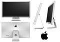 Monitor apple led cinema display Royalty Free Stock Photo