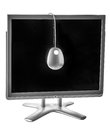 Monitor calibration with hardware Royalty Free Stock Image