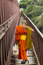 Monk footbridge Royalty Free Stock Image