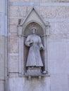 Savanrola on the wall Royalty Free Stock Photo